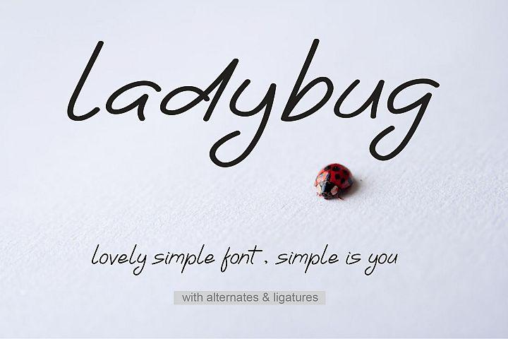 Ladybug | Simple Font