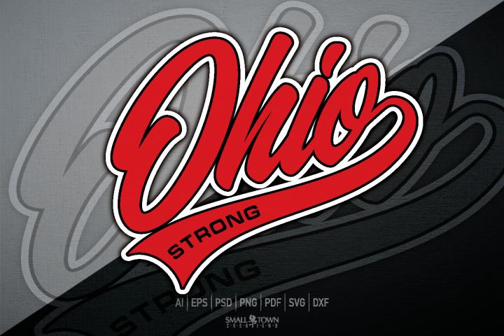 Ohio Strong, Ohio Script, Ohio Together, PRINT, CUT, DESIGN