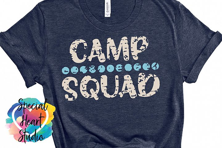 Camp Squad- A camping crew SVG
