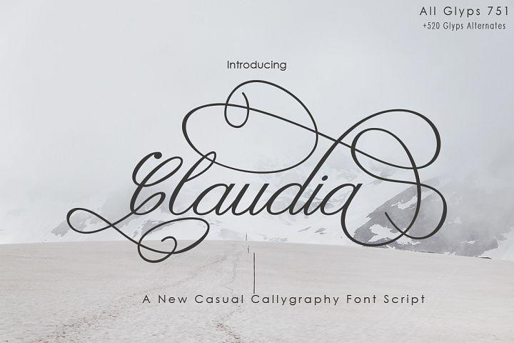 Claudia Calligraphy