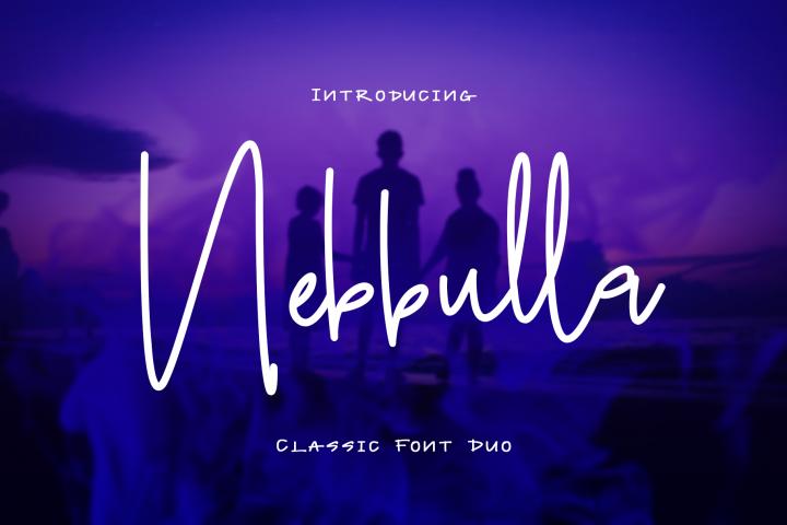Nebbulla Font Duo