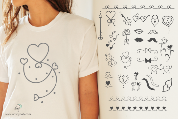 Fun Valentines Day Illustrations Pack