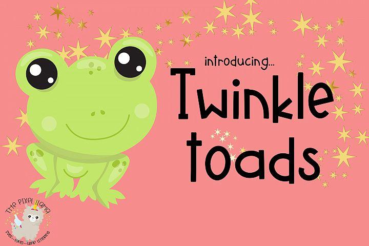 Twinkle Toads Font
