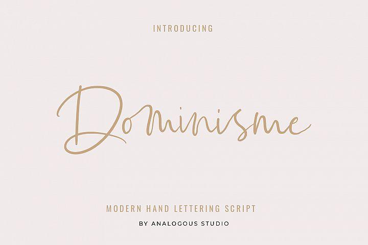 Dominisme Handwritten Font