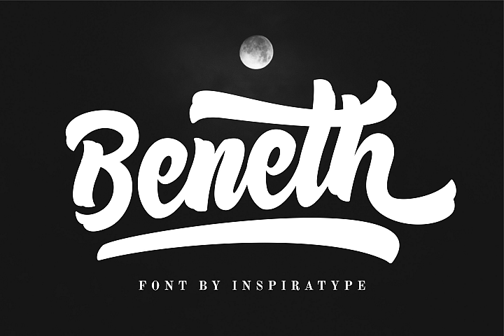 Beneth - Script Font