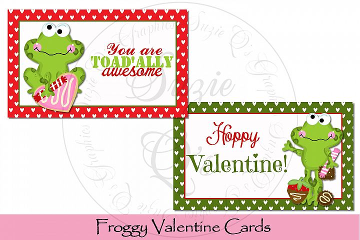 Froggy Valentine Cards