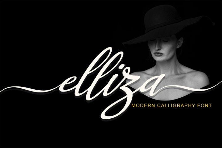 Elliza Script