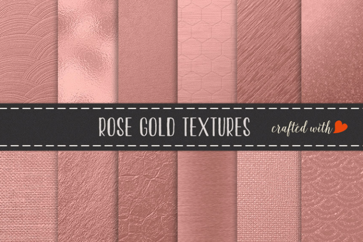 Rose Gold Foils - Rose Gold Backgrounds