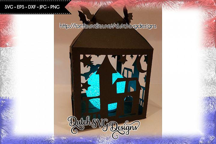 Halloween lantern cutting file, halloween lantern svg