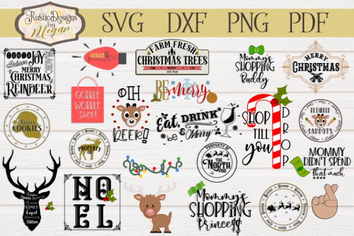 Christmas svg bundle - cut files