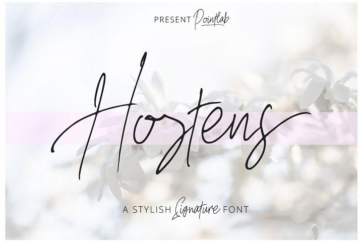Hostens Signature