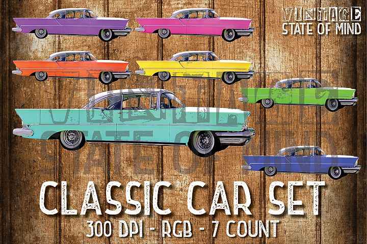 Classic Car Sublimation Graphics