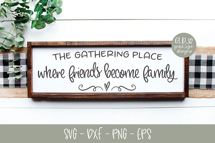 The Gathering Place - Kitchen SVG