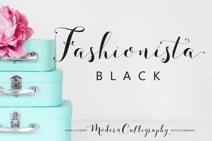 Fashionista Black