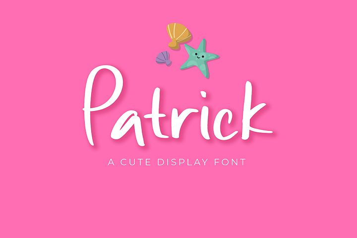 Patrick Cute Display Font