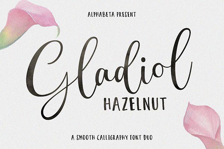 Gladiol Haze Script | Duo Font