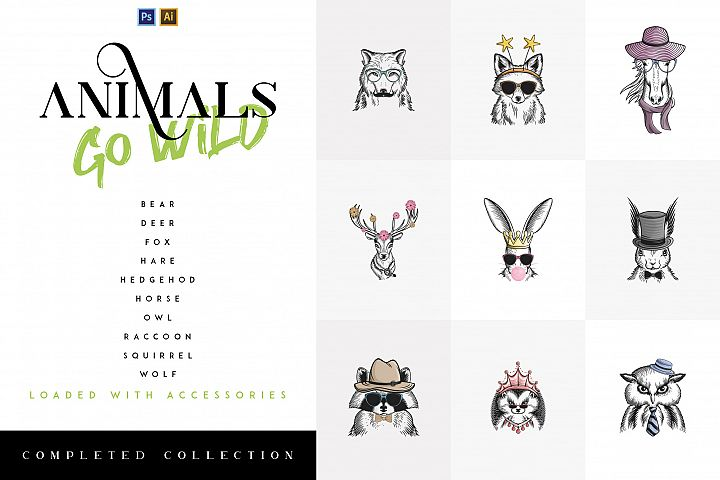 10in1 Animals Go Wild - Completed