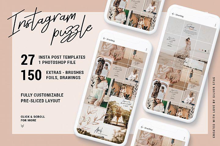 InstaGrid 7.0 - Elegant & Creative Instagram Puzzle Template