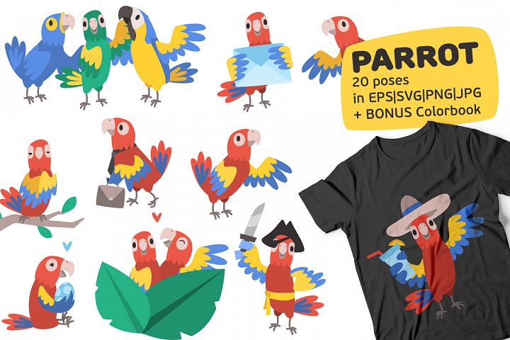 Parrot Bundle example