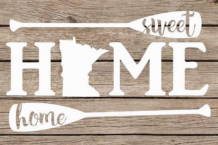 Minnesota home sweet home paddles