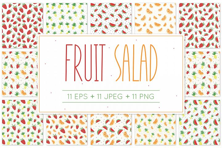 Fruit Salad - Pattern
