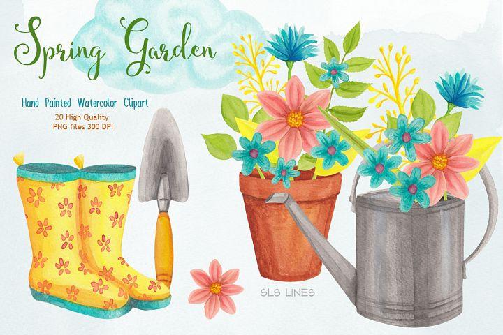 Spring Garden Watercolors