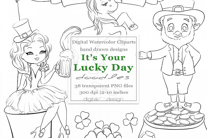 Its Your Lucky Day - Doodles