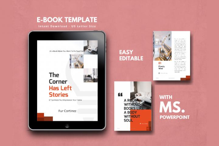 eBook Template - Interior Design Theme