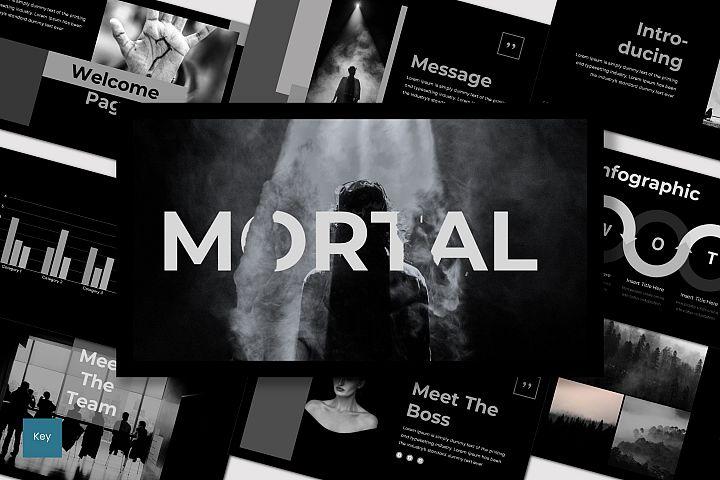 Mortal - Keynote Template