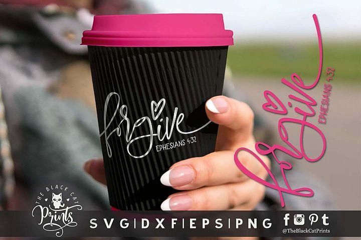 Forgive | Christian SVG DXF EPS PNG