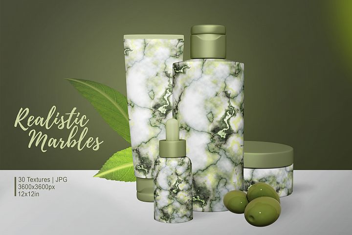 30 Realistic Marble Textures - JPG