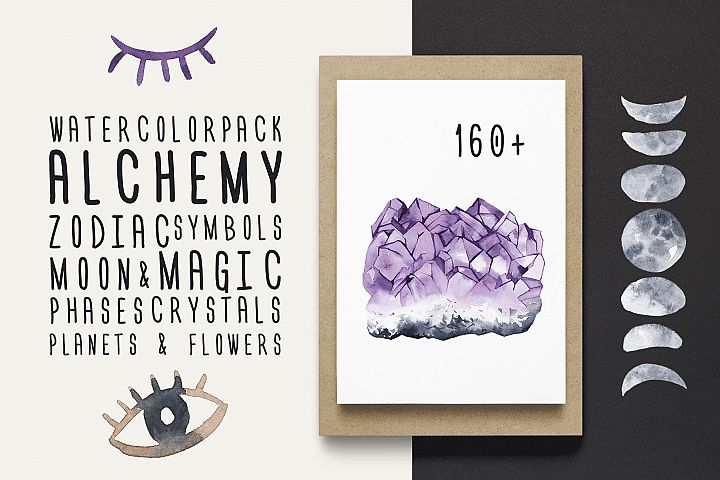 ALCHEMY watercolor pack