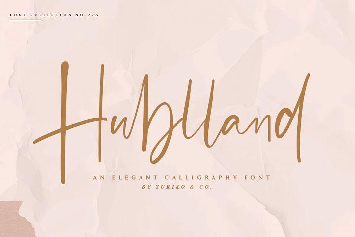 Hublland - Modern Script