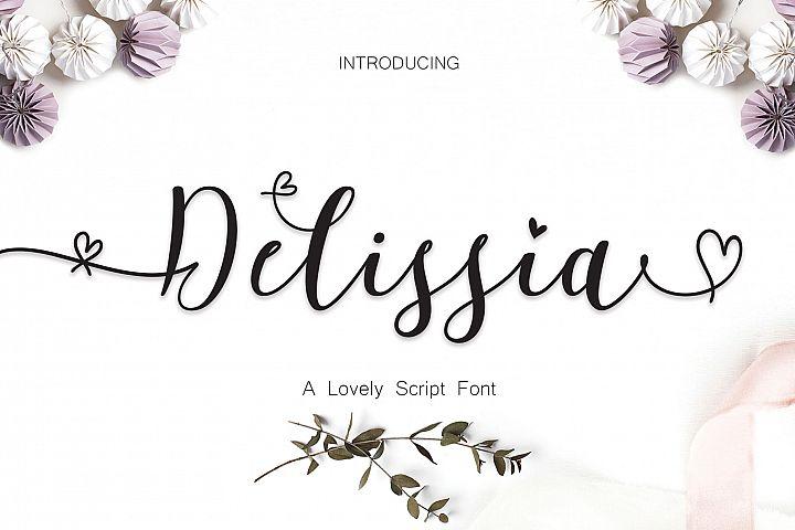 Delissia Script