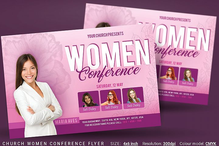 Church Women Conference Flyer