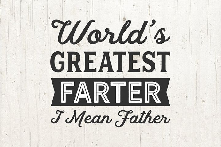 Dad svg, Worlds Greatest Farter svg Funny Fathers Day gift