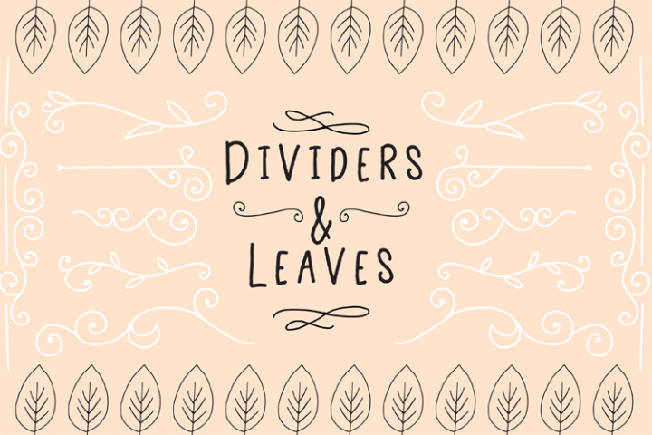 Dividers And Leaves