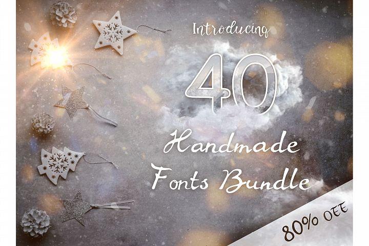 40 Handmade Fonts