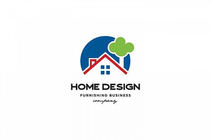 Home Furnishing Design Logo