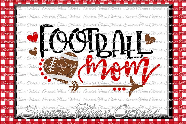 Football SVG Football Mom Svg