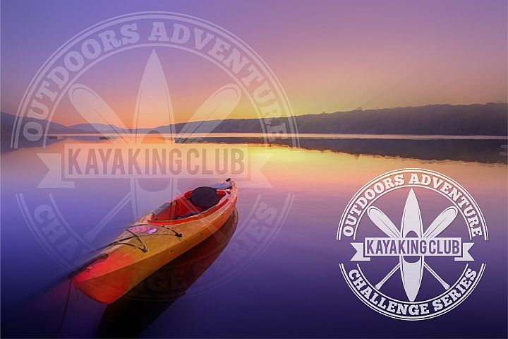 kayaking club logo