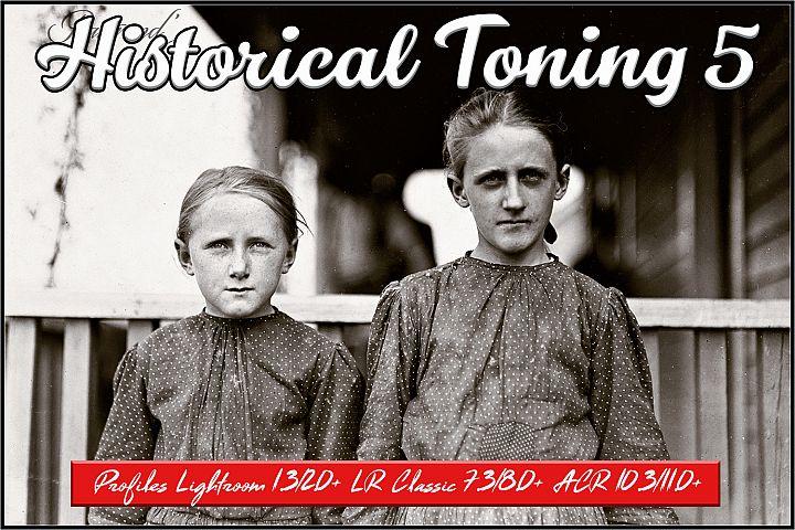 Historical Toning V Profiles Lightroom ACR