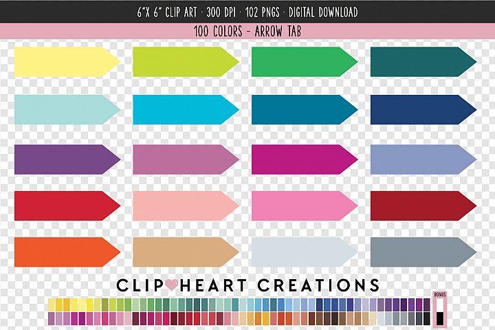 Arrows Clip Art - 100 Clip Art Graphics
