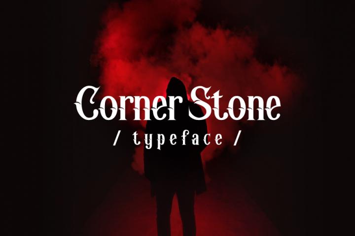 Corner Stone Typeface