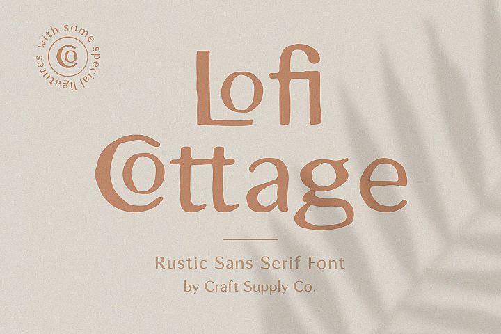 Lofi Cottage - Rustic Sans Serif