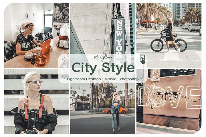 City Style Lightroom Desktop and Mobile Presets