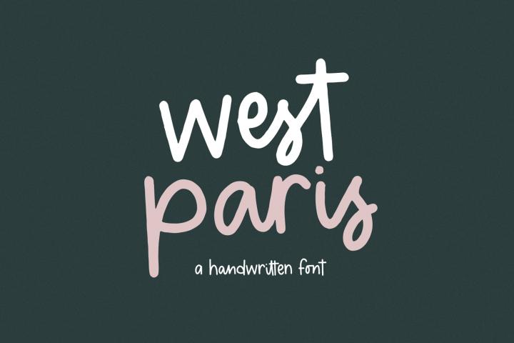 West Paris - A Quirky Handwritten Font