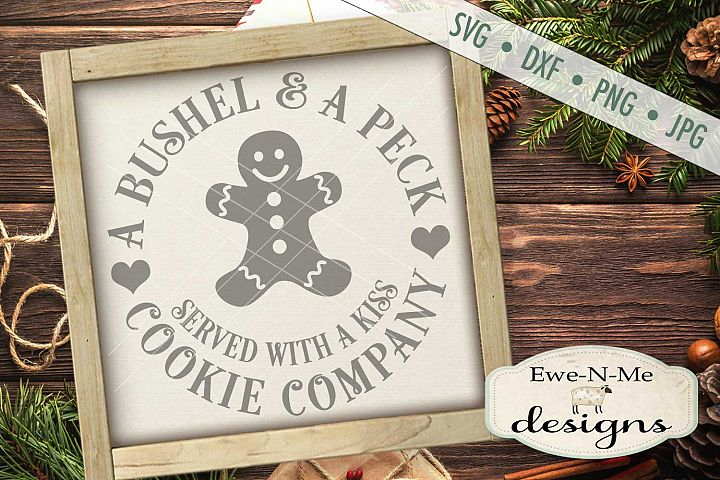 Bushel and a Peck Cookie Company SVG DXF Files
