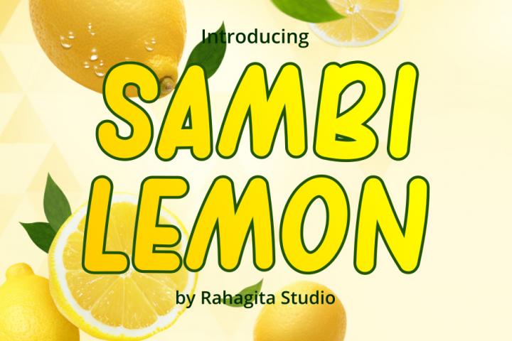 Sambi Lemon