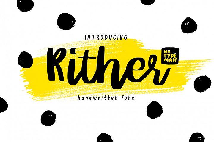 Rither Handwritten Script